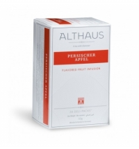 Чай Althaus Persischer Apfel фруктовый, 20 пакетиков