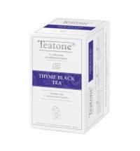 Чай Teatone Thyme Black Tea черный, 25 пакетиков