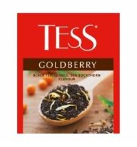 Чай Tess для сегмента HoReCa Goldberry (Тесс Голдберри) черный, 100 пакетиков