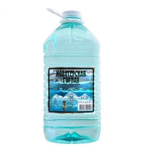 фото: Вода Новотерская 5 литров