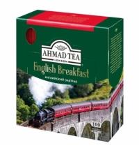 Чай Ahmad English Breakfast (Английский Завтрак) 100 пакетиков, черный