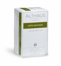 Чай Althaus Grun Matinee зеленый, 20 пакетиков