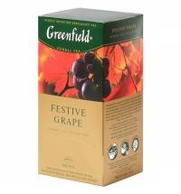 Чай Greenfield Festive Grape (Фестив Грэйп) травяной, 25 пакетиков