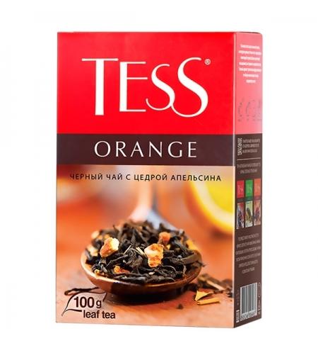 фото: Чай Tess Orange (Оранж) черный, листовой, 100 г