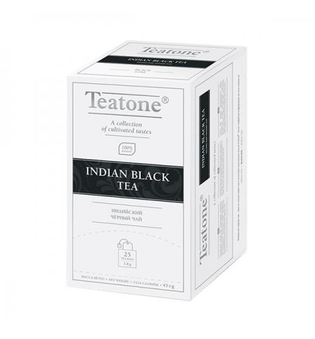 фото: Чай Teatone Indian Black Tea черный, 25 пакетиков