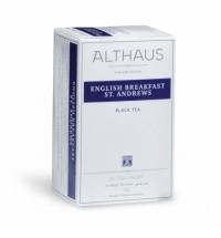 Чай Althaus English Breakfast St.Andrews черный, 20 пакетиков