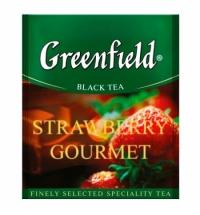 Чай Greenfield Strawberry Gourmet (Строуберри Гурмэ) черный, для HoReCa, 100 пакетиков