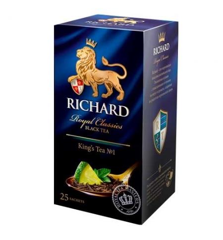 фото: Чай Richard King's Tea №1 черный, 25 пакетиков