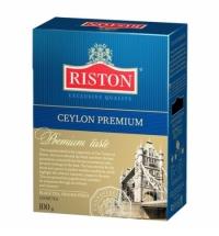 Чай Riston Premium Ceylon листовой, 200 г, черный