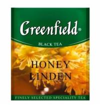 Чай Greenfield Honey Linden (Хани Линден) черный, для HoReCa, 100 пакетиков