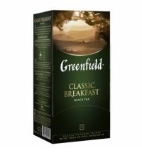Чай Greenfield Classic Breakfast (Классик Брекфаст) черный, 25 пакетиков