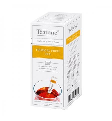 фото: Чай Teatone Tropical fruit черный, 15 стиков