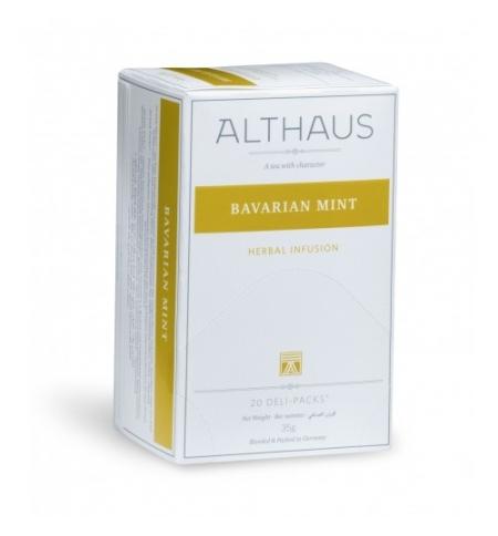фото: Чай Althaus Bavarian Mint травяной, 20 пакетиков