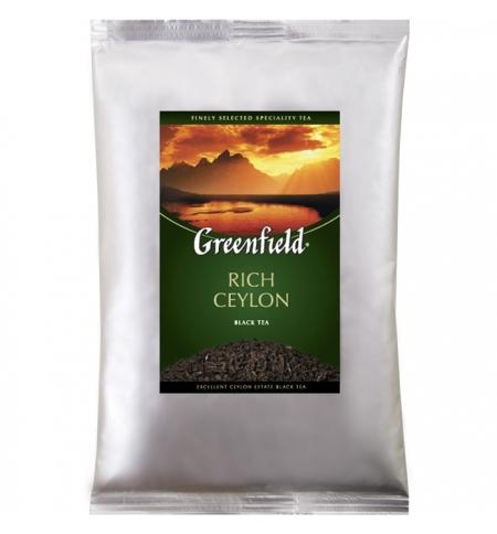 фото: Чай Greenfield Rich Ceylon (Рич Цейлон) черный, листовой, 250 г