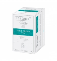 Чай Teatone Mint Green Tea зеленый, 25 пакетиков