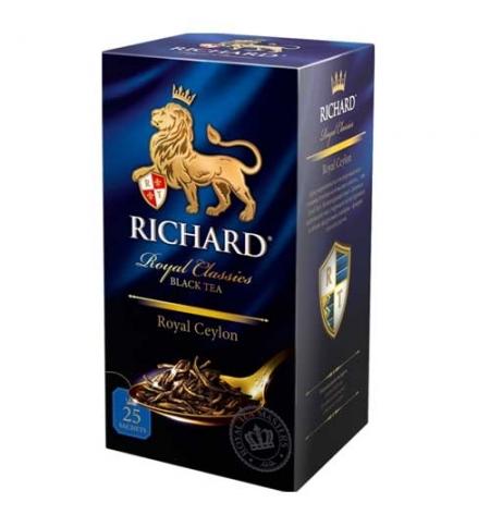 фото: Чай Richard Royl Ceylon черный, 25 пакетиков