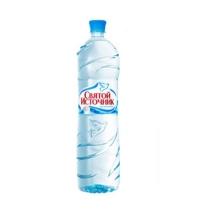 Вода Святой Источник 1 л негазированная, ПЭТ
