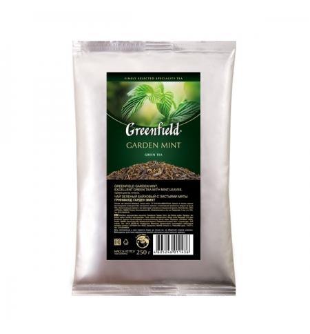 фото: Чай Greenfield Garden Mint (Гарден Минт) зеленый, листовой, 250 г