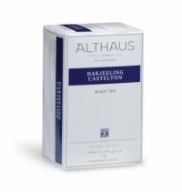Чай Althaus Darjeeling Castelton черный, 20 пакетиков