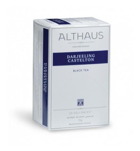 фото: Чай Althaus Darjeeling Castelton черный, 20 пакетиков