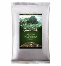 Чай Greenfield Jasmine Symphony (Жасмин Симфони) зеленый, листовой, 250 г