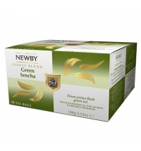 Чай Newby Green Sencha (Грин сенча) зеленый, 50 пакетиков