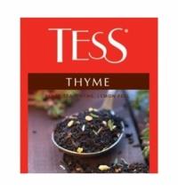 Чай Tess для сегмента HoReCa Thyme (Тайм) черный, 100 пакетиков