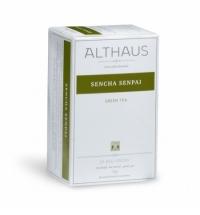 Чай Althaus Sencha Senpai зеленый, 20 пакетиков