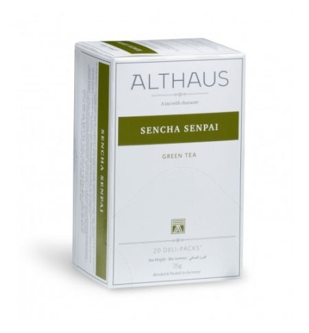 фото: Чай Althaus Sencha Senpai зеленый, 20 пакетиков