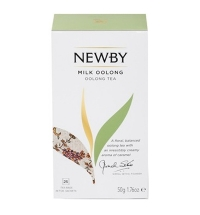 Чай Newby Milk Oolong (Милк оолонг) улун, 25 пакетиков