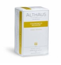 Чай Althaus Chamomile Meadow травяной, 20 пакетиков