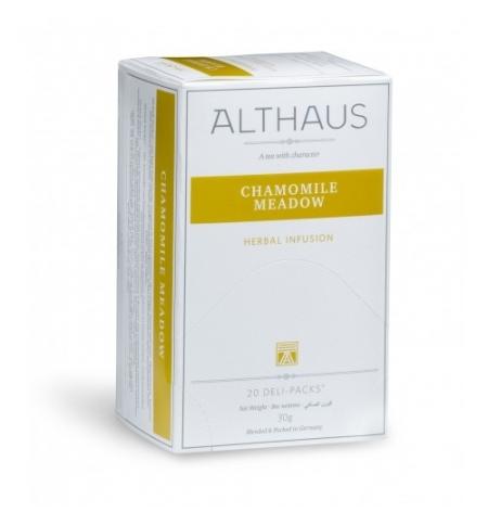 фото: Чай Althaus Chamomile Meadow травяной, 20 пакетиков