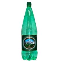 Нарзан минеральная вода газированная 1,8 л, ПЭТ