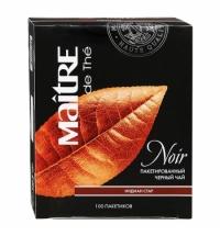 Чай Maitre De The Индиан стар черный, 100 пакетиков
