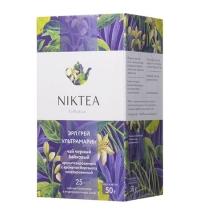 Чай Niktea Earl Grey Ultramarine (Эрл Грей Ультрамарин) черный, 25 пакетиков
