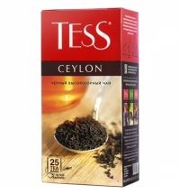 Чай Tess Ceylon (Цейлон) черный, 25 пакетиков
