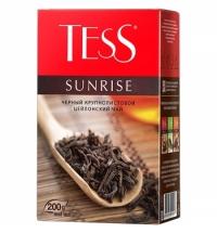 Чай Tess Sunrise (Санрайз) черный, листовой, 200 г