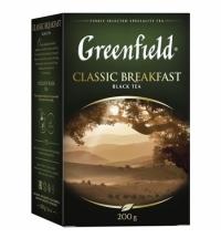 Чай Greenfield Classic Breakfast (Классик Брекфаст) черный, листовой, 200 г