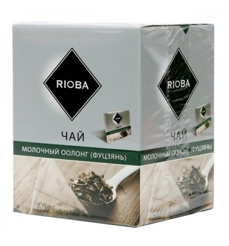 фото: Чай Rioba Молочный Оолонг (Фуцзянь) улун, в пирамидках, 20 пакетиков