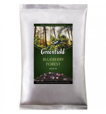 фото: Чай Greenfield Blueberry Forest (Блюберри Форест) черный, листовой, 250 г