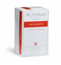 Чай Althaus Wild Berries фруктовый, 20 пакетиков