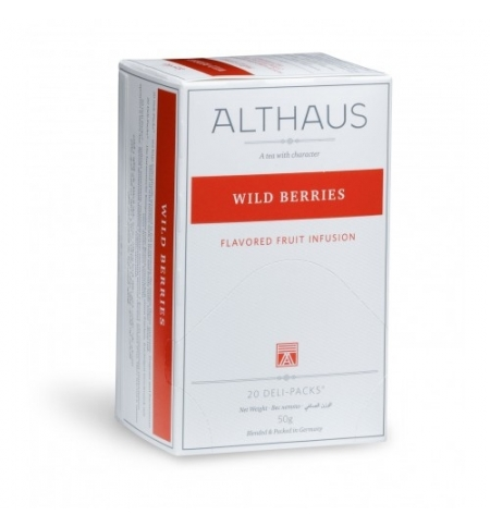 фото: Чай Althaus Wild Berries фруктовый, 20 пакетиков