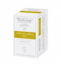 Чай Teatone Sencha Green Tea зеленый, 25 пакетиков