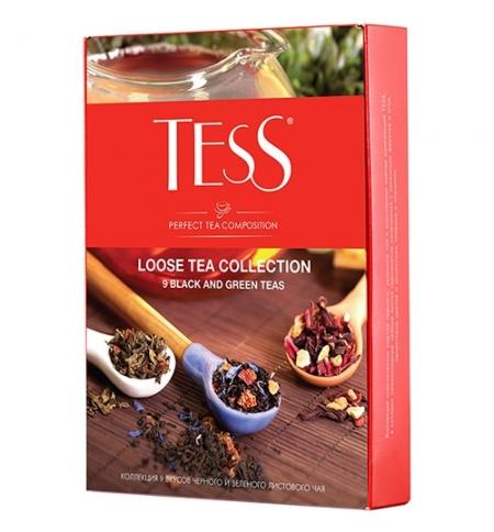 фото: Набор чая Tess 9 сортов листовой, 350г