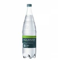 Питьевая вода Акваника 1.5 л, газированная, выс./кат. ПЭТ