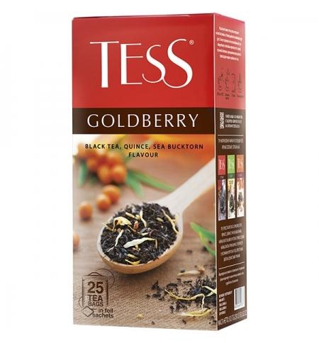 фото: Чай Tess Tess Goldberry (Тесс Голдберри) черный, 25 пакетиков