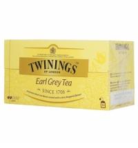 Чай Twinings Earl Grey черный, 25 пакетиков