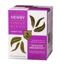 Чай Newby English Breakfast (Инглиш брекфаст) черный, листовой, 100 г