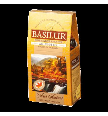 фото: Чай Basilur Four season Осенний с кленовым сиропом черный, листовой, 100г