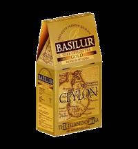 Чай Basilur The island of tea Gold черный, листовой, 100г